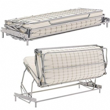 LAMPOLET BED BASE AND MATTRESS